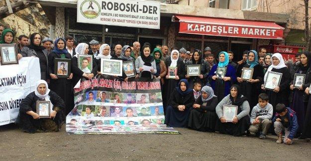 Roboski Aileleri: Her kurum Roboski Katliamı'nın günahıyla kirlenmekte