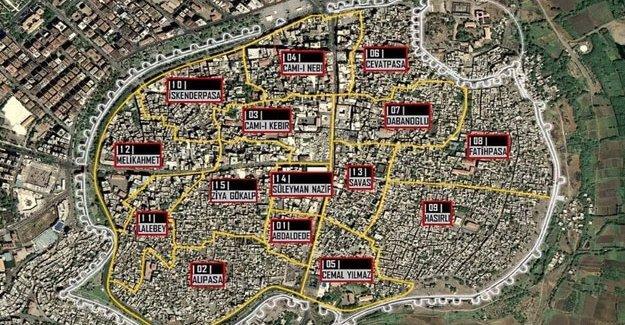 Sur'da 9 mahallede yasak kaldırıldı