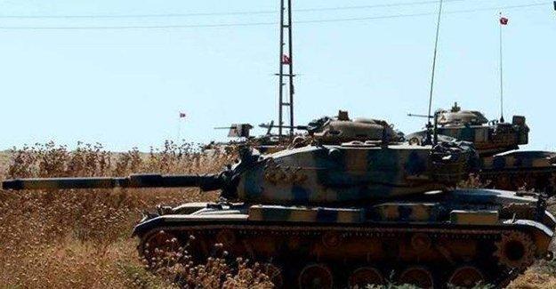 TSK, Afrin kantonunu vurdu
