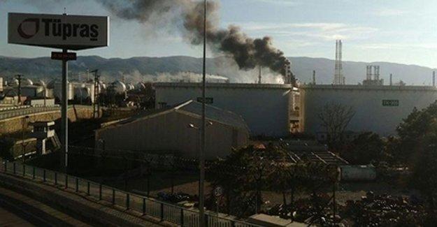 Tüpraş'ta patlama: 4 işçi hayatını kaybetti!