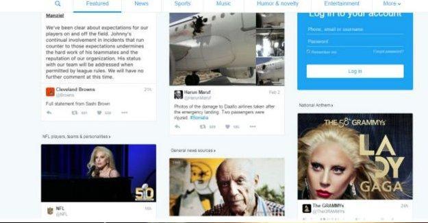 Twitter'dan 23 ülkede canlı ana sayfa