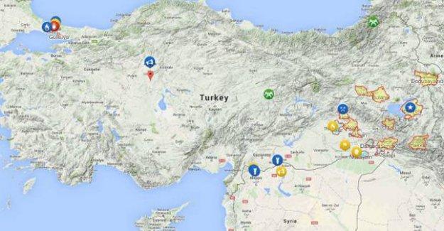 Wikipedia, 'iç savaşın' yaşandığı ülkelere Türkiye'yi de ekledi
