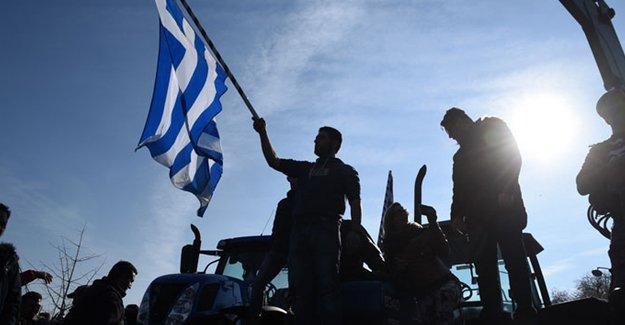 Yunanistan'da grev: Katılım yüzde 90