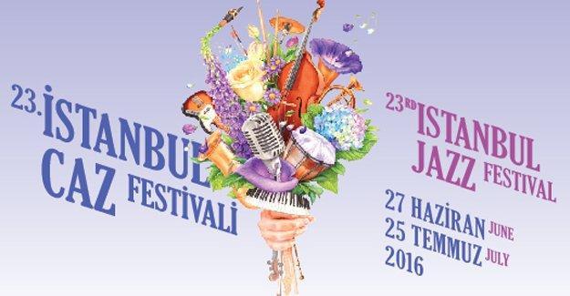 23. İstanbul Caz Festivali programı açıklandı