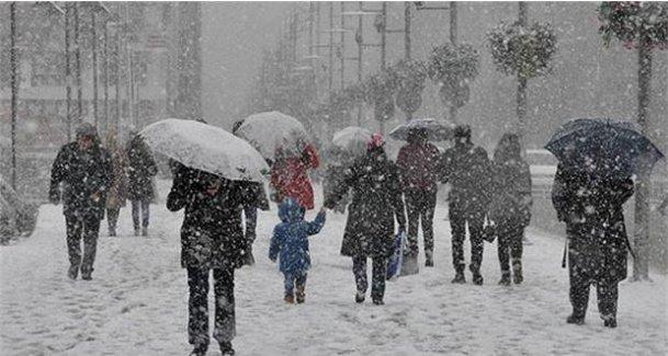 4 bölgeye kar geliyor