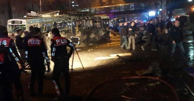 Ankara'daki patlamaya yayın yasağı