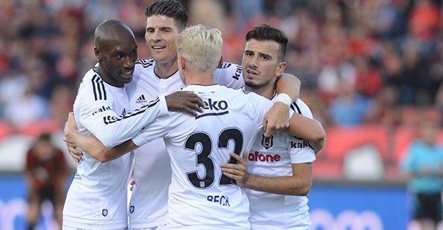 Beşiktaş, Eskişehirspor'u 3 golle geçti