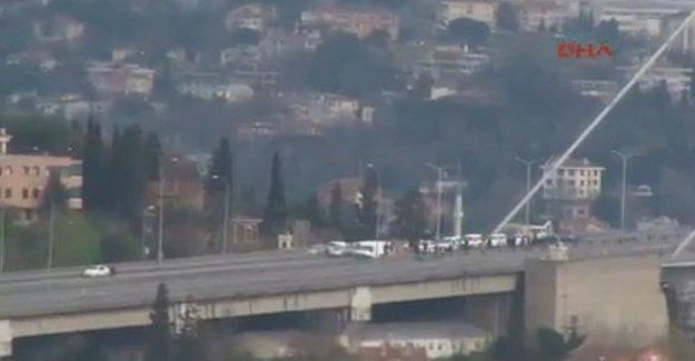 Boğaziçi Köprüsü'nde durdurulan trafik açıldı