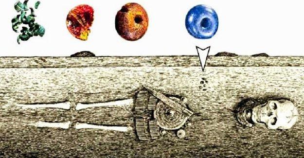 Bronz çağında mısırlı boncuklar