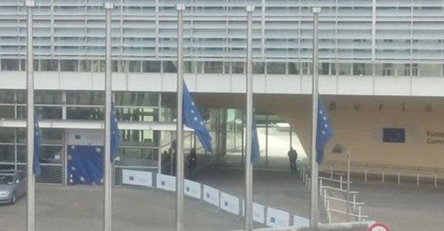 Brüksel'deki Avrupa Komisyonu binası tahliye ediliyor