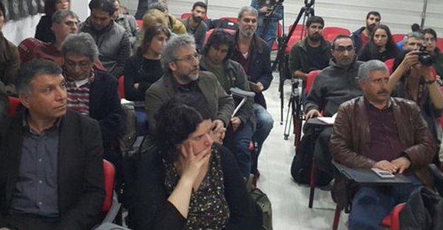 Can Dündar, Haber Nöbeti'nin Diyarbakır'daki son toplantısına katıldı