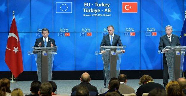 Davutoğlu'ndan AB'ye vizesiz seyahat açıklaması