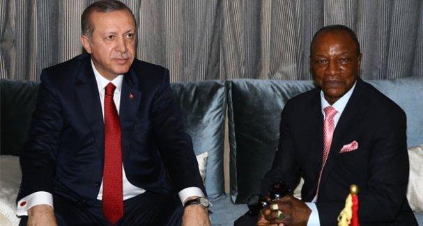 Erdoğan Gine'de CHP'yi eleştirdi