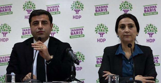 Eşbaşkanların da aralarında olduğu 5 HDP'linin fezlekeleri Başbakanlık'ta