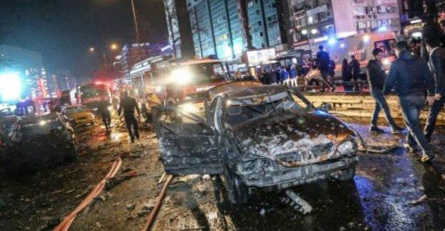 Ankara'da gerçekleşen bombalı saldırıyı TAK üstlendi
