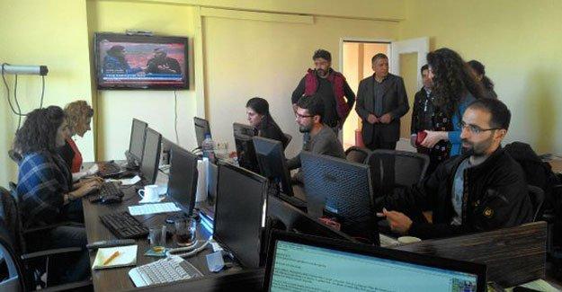 Haber Nöbeti'nin beşinci ekibi Diyarbakır'da
