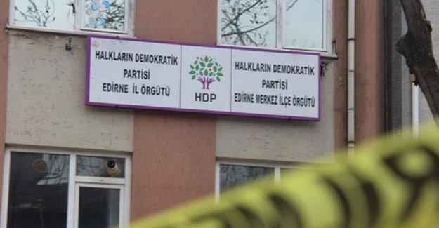 Edirne HDP il örgütüne polis baskını