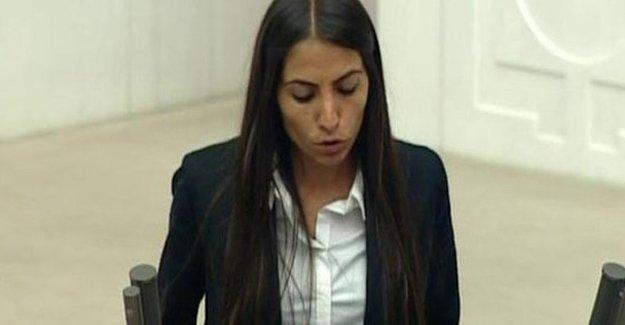 HDP'li Tuğba Hezer'in fezlekesi Meclis'e gönderildi