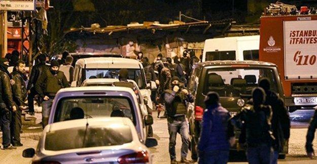 İstanbul'da sabah baskınları