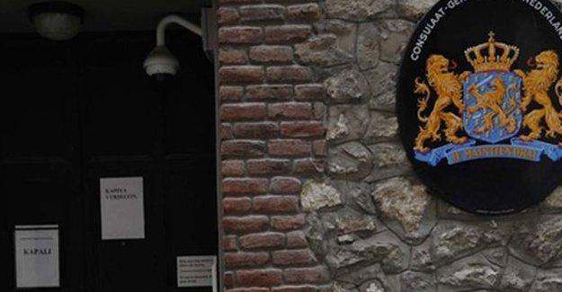 İstanbul'daki Hollanda Başkonsolosluğu bugün de kapalı