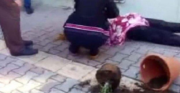 Kadına şiddete saksılı müdahale