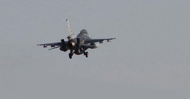 TSK'dan PKK'ye hava operasyonu
