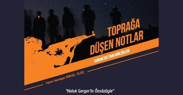 Kobani direniş günlükleri kitaplaştırıldı