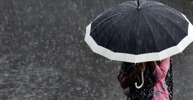 Meteoroloji'den sağanak yağış uyarısı