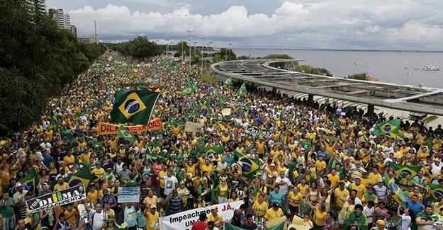 Milyonlarca Brezilyalı, hükümeti istifaya çağırdı