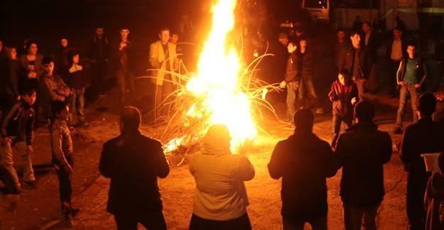 Newroz'un ilk ateşi Batman'da yakıldı