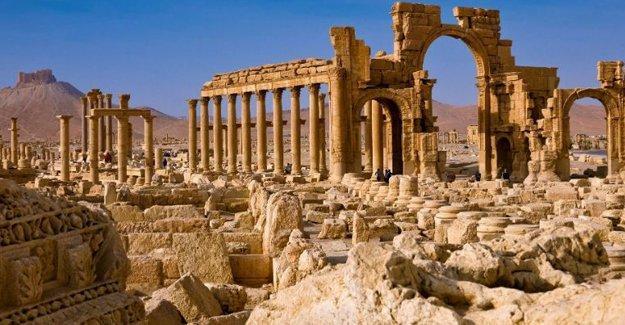 Palmira'nın son görüntüleri yayınlandı