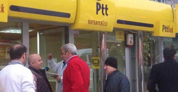 PTT soyguncusu polis çıktı