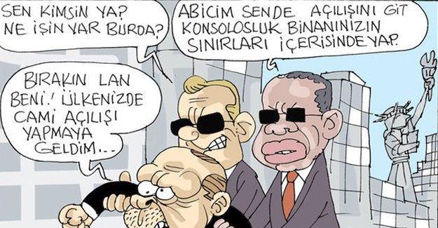 Sefer Selvi Erdoğan'ın hedefindeki konsolosları çizdi