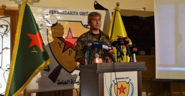 YPG'den Tel Abyad açıklaması