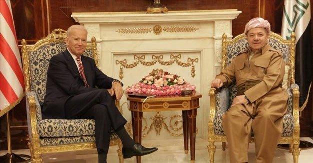 ABD Başkan Yardımcısı Biden, Erbil'de Barzani ile görüştü