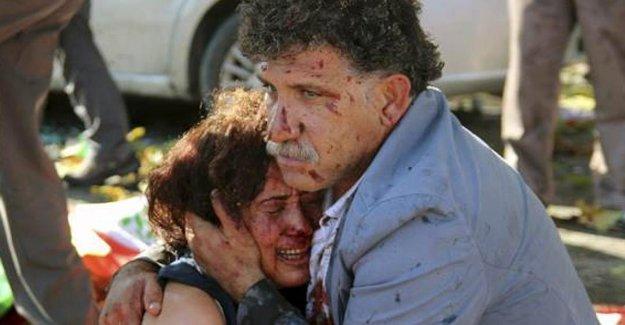 Ankara'da yaralılara yardım edenler için polis: Süpürün şunları