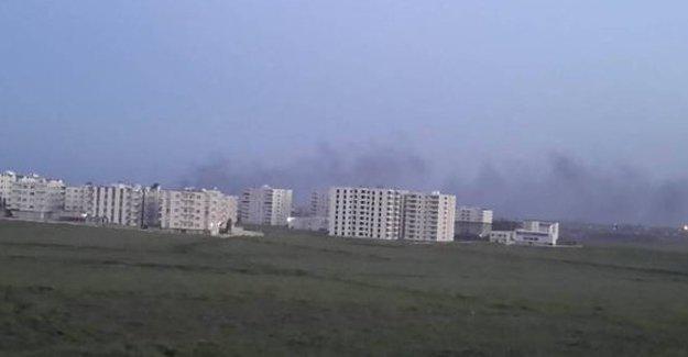 DİHA: Nusaybin'de sivillerin kaldığı evler bombalandı