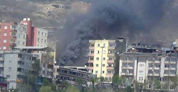 DİHA: Şırnak'ta mahalleler obüslerle aralıksız bombalanıyor