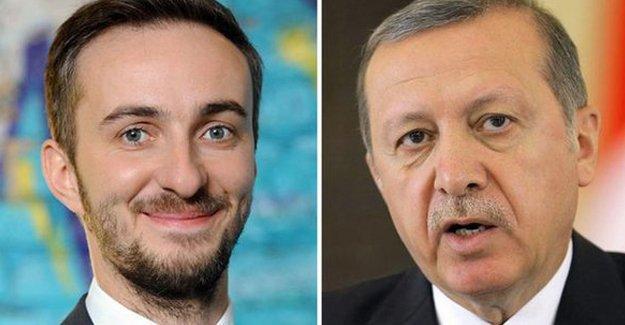 Erdoğan Alman mizahçıdan şikayetçi oldu