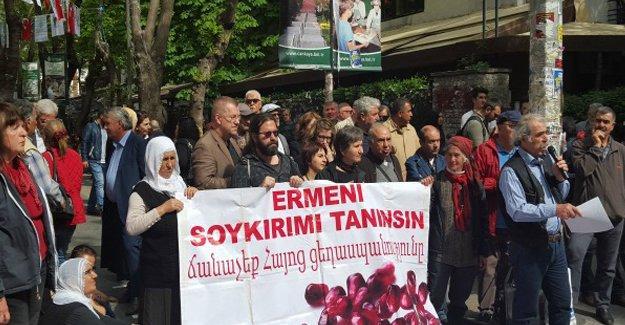 Ermeni Soykırımı'nda yaşamını yitirenler Ankara'da anıldı