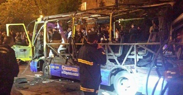 Ermenistan'ın başkenti Erivan'da patlama