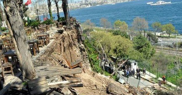Gülhane Parkı'nda duvar çöktü: 2 kişi hayatını kaybetti