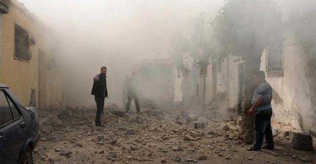 IŞİD bölgesinden Kilis'e bir kez daha roketler atıldı
