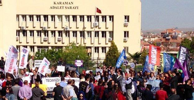 Karaman'daki istismar sanığının ifadesi