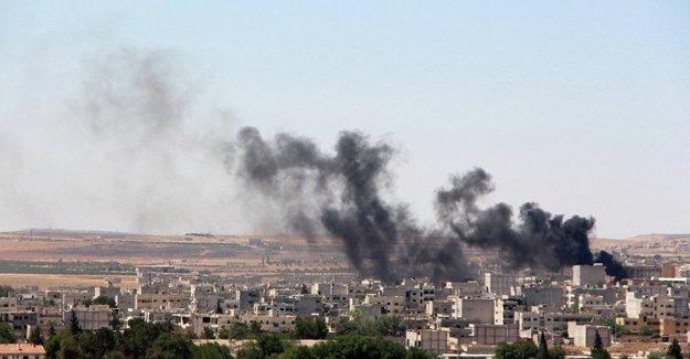 Kobani'de patlama: 4 çocuk hayatını kaybetti