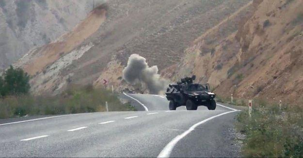 Lice'de askeri üs bölgesine saldırı