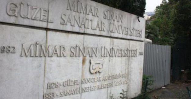 Mimar Sinan Üniversitesi'ne polis baskını: 25 gözaltı