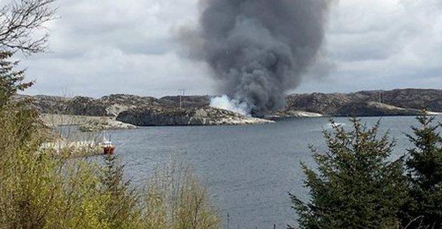 Norveç'te içinde en az 13 kişinin bulunduğu helikopter düştü