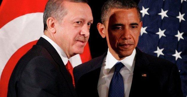 Obama ile Erdoğan Beyaz Saray'da görüştü