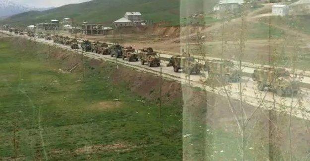 'Operasyonların bittiği' Yüksekova'ya askeri sevkiyat